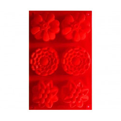 Silicone flower shape with...