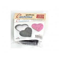 Cutander and stamp heart