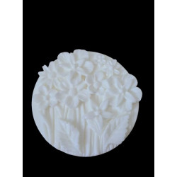Round silicone mold with...