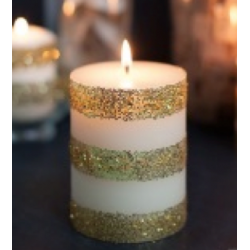 Candle lacquer shiny colorless