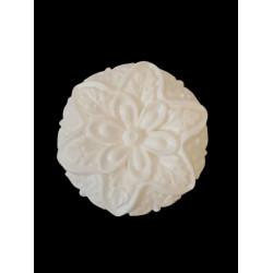 Flexible silicone mold mandala