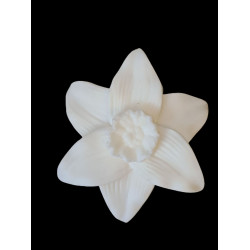 Flexible silicone mold flower