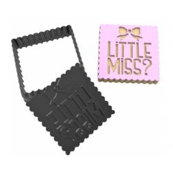 Stamp cutter LITTLE MISS