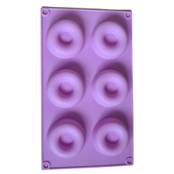 DONNUTS soap form with 6...