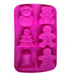 WINTER soap form with 6...