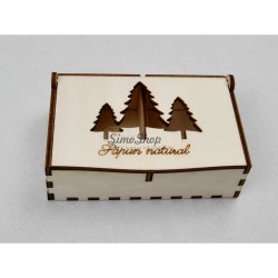 TREES box for soap with two...