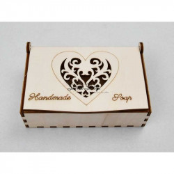 HEART box for soap