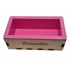 Wooden box for soap...