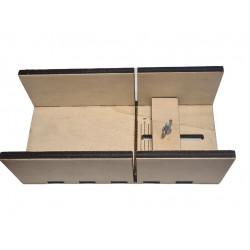 Adjustable wooden holder...