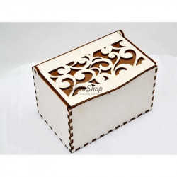 Floral box for candles