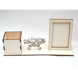Office organizer with photo...