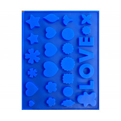Silicone shape for SOAP...