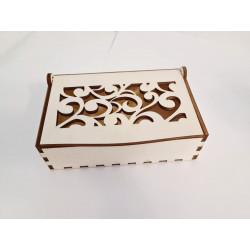 Lace box for soap 14x8,4x4cm