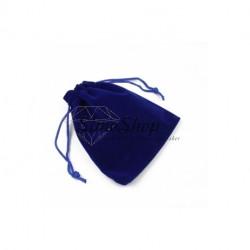Blue velvet bag