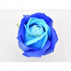 Blue Royal Soap Rose 5 cm