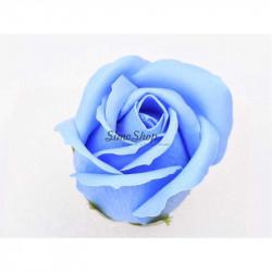 Blue Soap Rose 5 cm