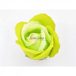 Light Green Soap Rose 5 cm
