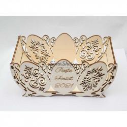 Decorative wooden basket...