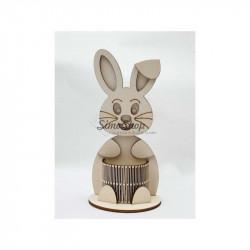 Wood bunny...